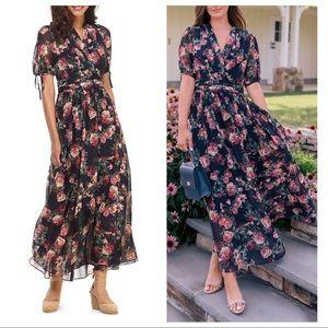 Gal meets Glam Ashlynn floral print maxi dress